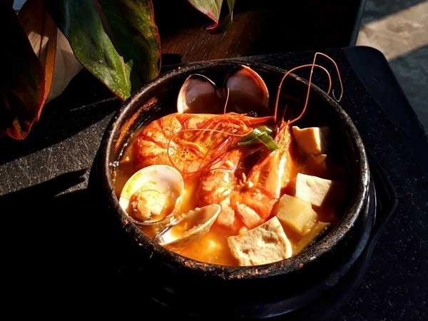 Cách nấu canh tương hải sản Hàn Quốc tại nhà - Ảnh 6