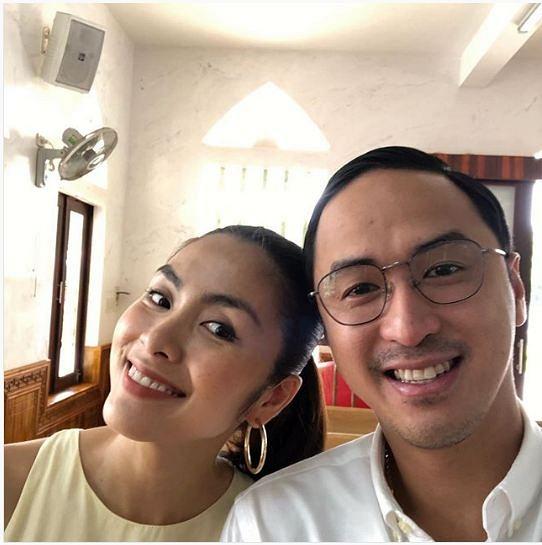 Diện đồ đẹp đi đám cưới, chồng Tăng Thanh Hà được khen 'yêu' hơn vợ - Ảnh 1
