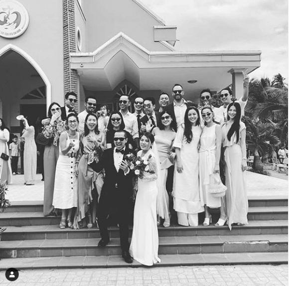 Diện đồ đẹp đi đám cưới, chồng Tăng Thanh Hà được khen 'yêu' hơn vợ - Ảnh 3