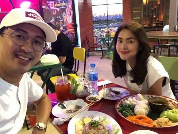 Diện đồ đẹp đi đám cưới, chồng Tăng Thanh Hà được khen 'yêu' hơn vợ - Ảnh 5