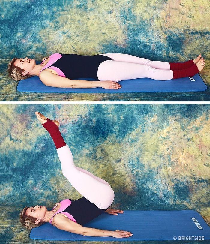 9 bài tập giúp cơ thể bạn trở nên thon gọn chỉ 10 phút mỗi ngày  - Ảnh 10