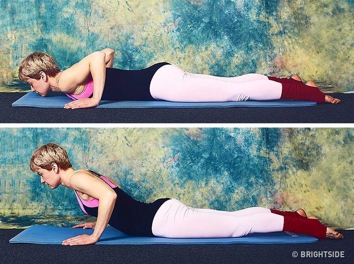 9 bài tập giúp cơ thể bạn trở nên thon gọn chỉ 10 phút mỗi ngày  - Ảnh 7