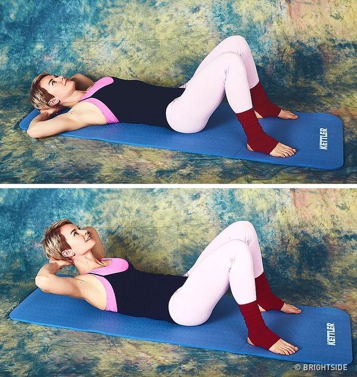 9 bài tập giúp cơ thể bạn trở nên thon gọn chỉ 10 phút mỗi ngày  - Ảnh 8