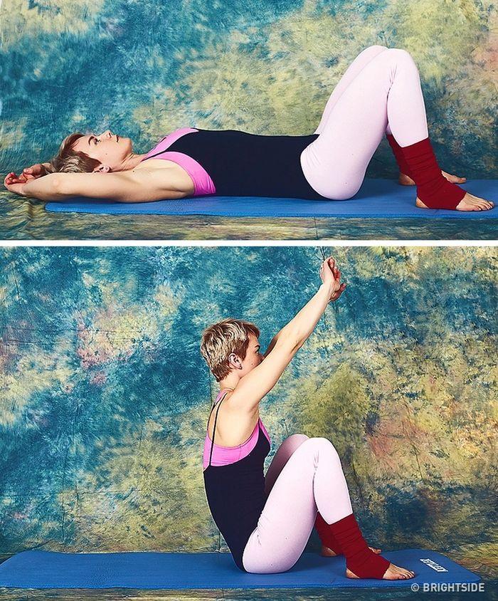 9 bài tập giúp cơ thể bạn trở nên thon gọn chỉ 10 phút mỗi ngày  - Ảnh 9