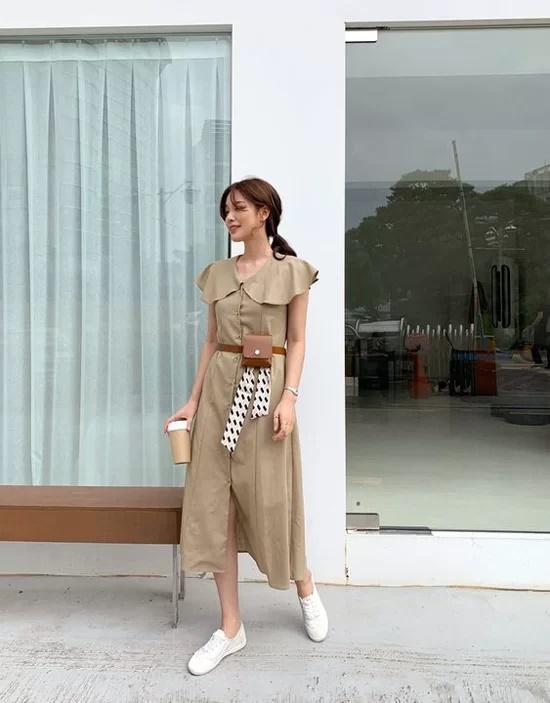 Váy áo mùa thu cho nàng công sở - Ảnh 4