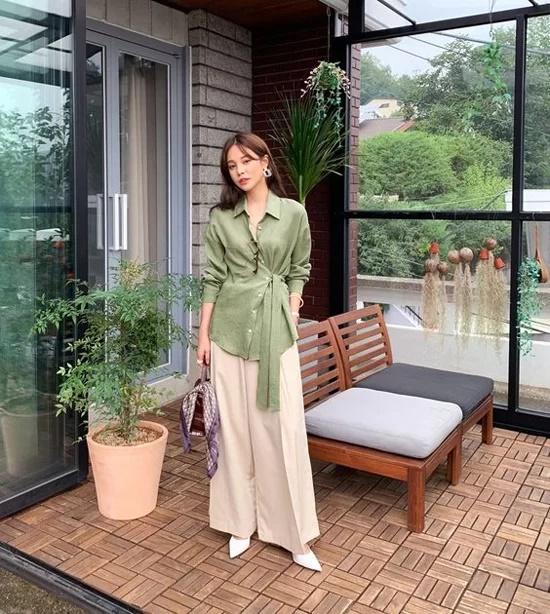 Váy áo mùa thu cho nàng công sở - Ảnh 8