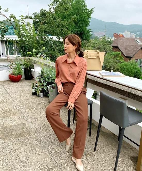 Váy áo mùa thu cho nàng công sở - Ảnh 9