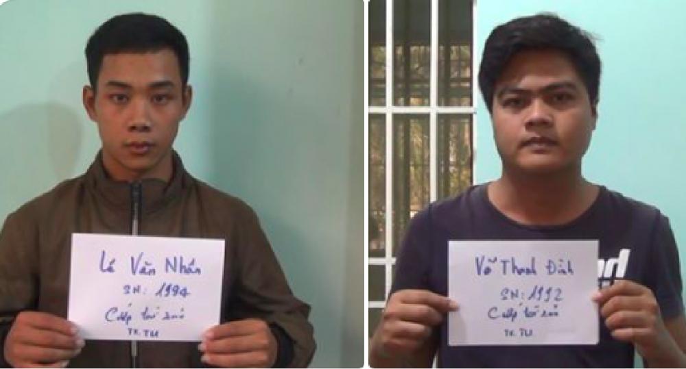 Hai thanh niên đâm trọng thương tài xế taxi rồi cướp tài sản - Ảnh 1