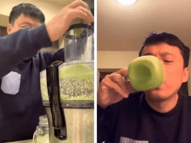 Sao giữ dáng: Minh Hằng uống thơm mix cải xoắn, Bảo Anh nghệ mật ong - Ảnh 1