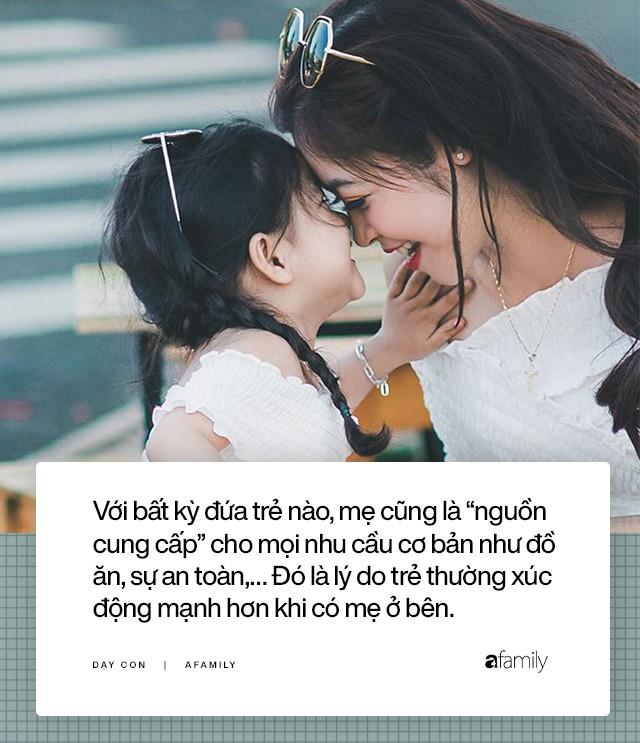 Tại sao con bạn ngoan ngoãn với tất cả mọi người nhưng lại giận dữ vô cớ với mẹ: Lý do thật ra hết sức ngọt ngào! - Ảnh 1