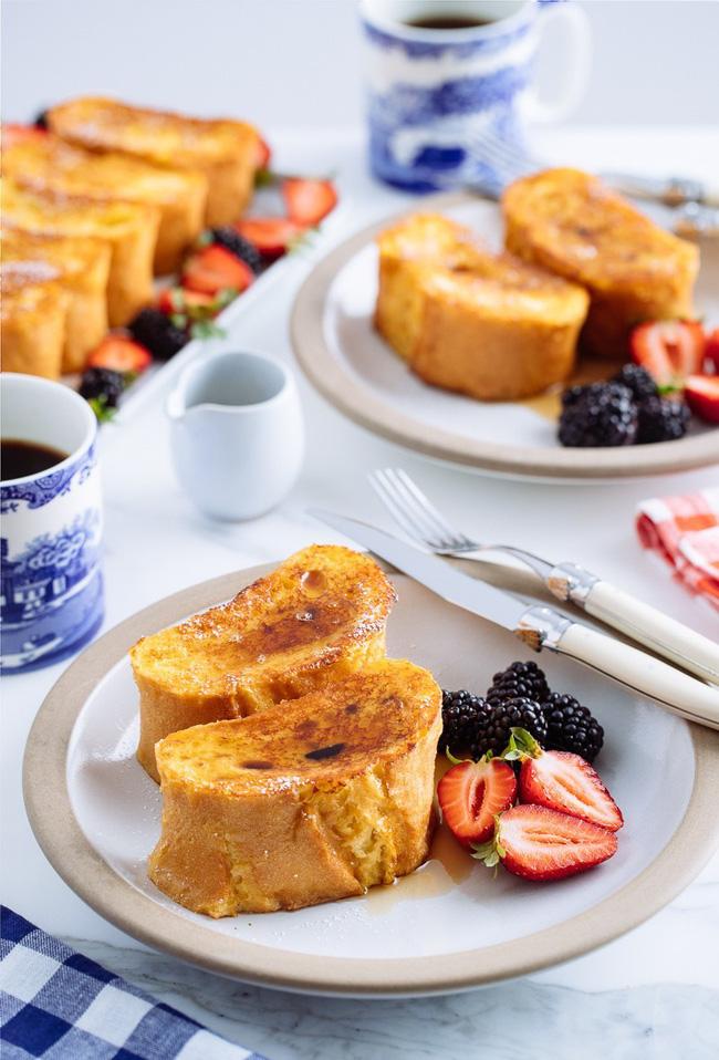 Bữa sáng cuối tuần lãng mạn với món bánh mì nướng kinh điển từ nước Pháp - Ảnh 8