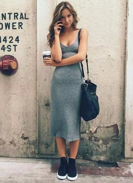 Bí quyết mặc đầm ôm đẹp dành cho mọi dáng người - Ảnh 19