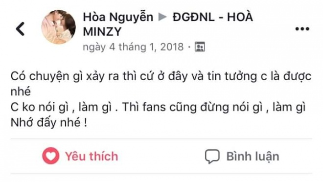 Hòa Minzy nhắn nhủ đến fans khi đang bị chỉ trích vì 'dính phốt thái độ' - Ảnh 5