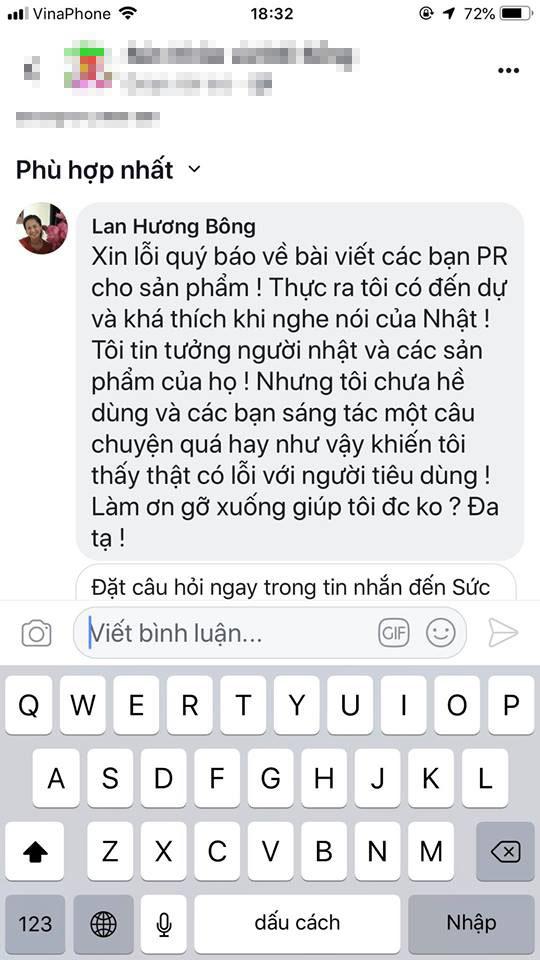 Nghệ sĩ Lan Hương bức xúc vì bị lợi dụng hình ảnh quảng cáo thuốc làm đen tóc - Ảnh 6