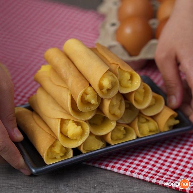 Có món bánh cuộn làm chẳng cần lò nướng mà ngon đẹp cực kỳ - Ảnh 6