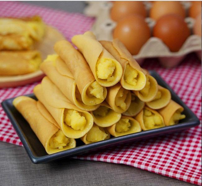 Có món bánh cuộn làm chẳng cần lò nướng mà ngon đẹp cực kỳ - Ảnh 7