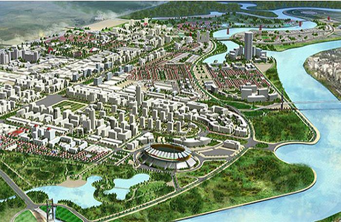 """Hải Phòng: """"Sờ gáy"""" dự án khu đô thị Bắc sông Cấm gần 10.000 tỷ đồng - Ảnh 1"""