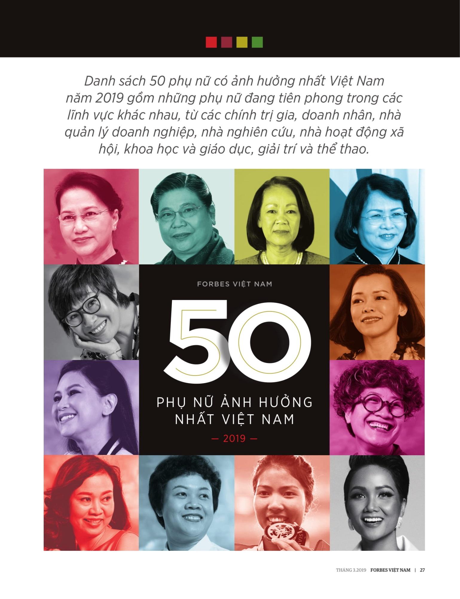 H'Hen Niê được vinh danh trong top 50 phụ nữ ảnh hưởng nhất VN 2019 - Ảnh 1