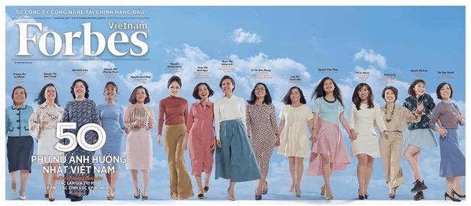 Hoa hậu Hương Giang lọt top 50 phụ nữ ảnh hưởng nhất Việt Nam do Forbes bình chọn - Ảnh 1