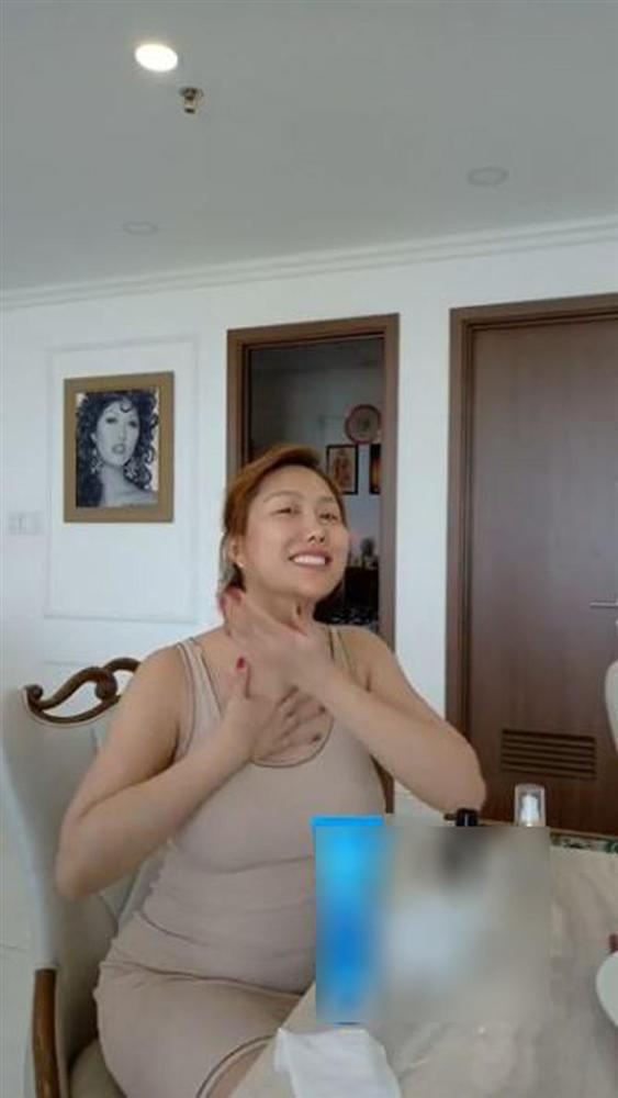 Phi Thanh Vân lộ vòng 2 to bất thường, mặt sưng phù, nhợt nhạt  - Ảnh 4