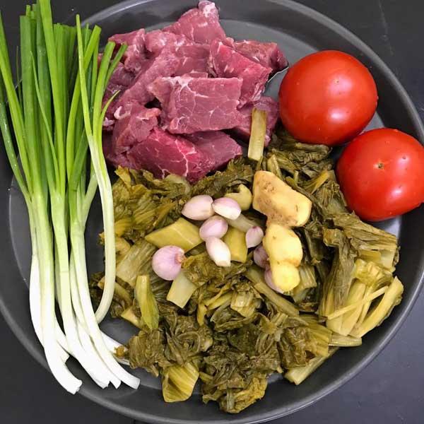 Cách làm món thịt bò kho dưa đơn giản nhất - Ảnh 2