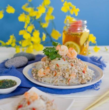 'Học lỏm' được công thức làm miến trộn của đầu bếp người Thái, tôi chẳng bao giờ phải tốn tiền đi nhà hàng để ăn món này nữa - Ảnh 6