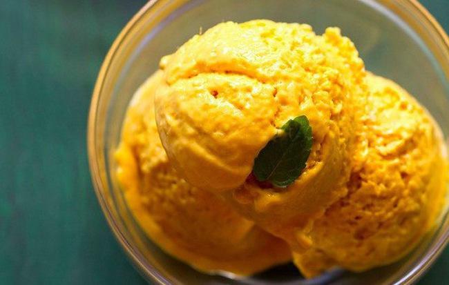 Không cần máy vẫn làm được kem xoài ngọt ngon hấp dẫn - Ảnh 6