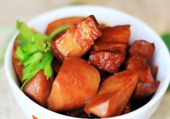 Thịt ba chỉ kho khoai sọ - món ngon vừa lạ vừa quen, ăn là nghiện - Ảnh 2