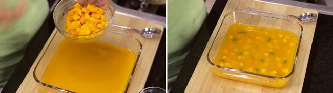 Thạch xoài hai tầng làm cực dễ, ăn ngon khỏi bàn - Ảnh 4