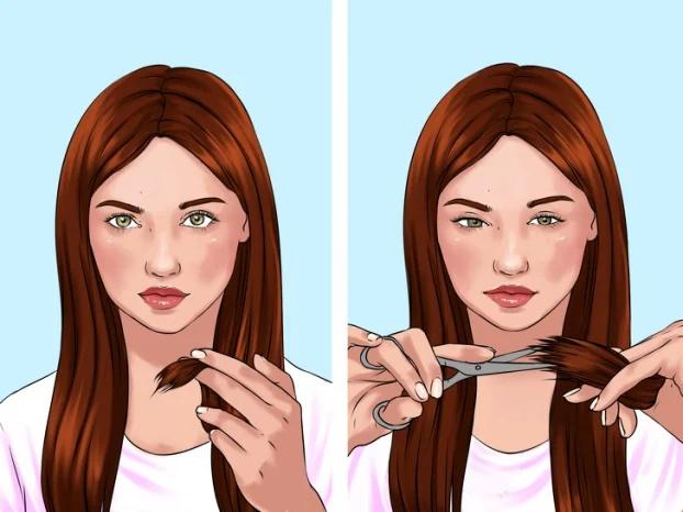 8 mẹo tự cắt tóc tại nhà chuẩn như ngoài salon - Ảnh 9