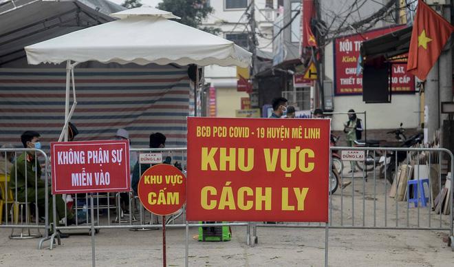 Đêm mai, thôn Hạ Lôi với 11.000 người được gỡ lệnh phong tỏa phòng COVID-19 - Ảnh 1
