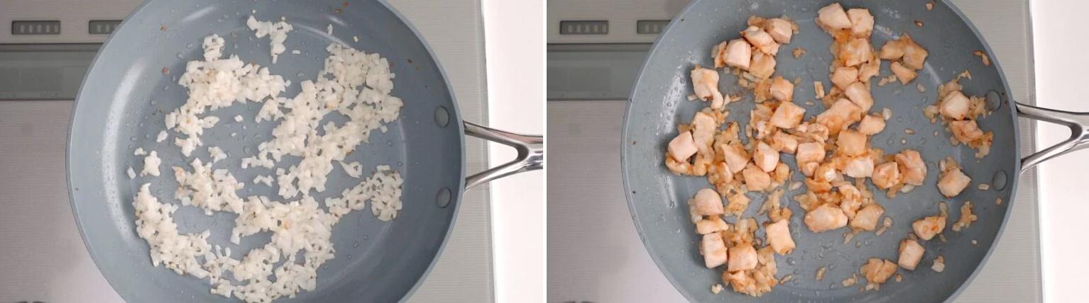 Học đầu bếp Nhật làm cơm chiên trứng ngon đẹp 'rụng rời'! - Ảnh 3