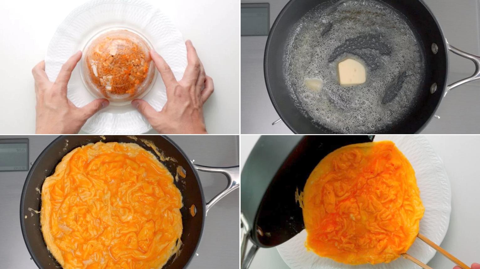 Học đầu bếp Nhật làm cơm chiên trứng ngon đẹp 'rụng rời'! - Ảnh 5