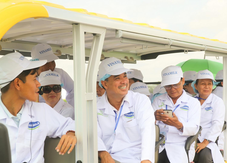 Tận mắt thấy những cô bò ở 'Resort' góp công vào ly sữa học đường - Ảnh 6