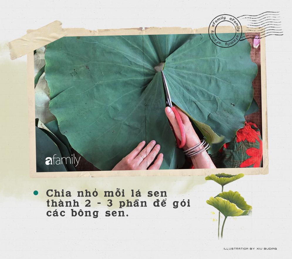 Cô gái Hà Nội hướng dẫn cách ướp trà sen thơm ngát chuẩn ngon đến người lười cũng làm theo được - Ảnh 4