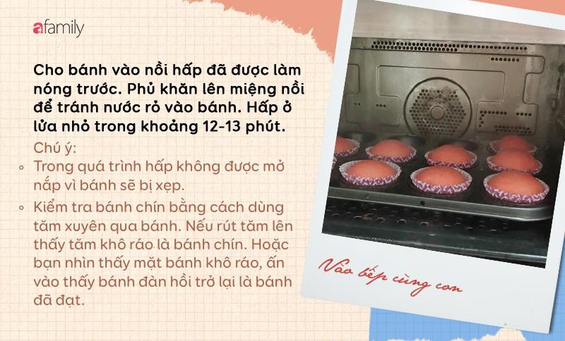 Xem ngay Hot Mom vạn người mê chia sẻ công thức làm bánh bông lan cute lạc lối mà không cần lò nướng! - Ảnh 5