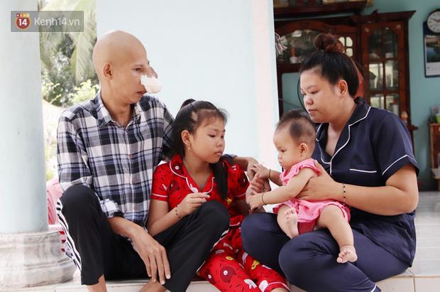 Bước đường cùng của người cha bị ung thư hốc mũi ôm 2 đứa con thơ dại: 'Con sợ cha chết, không sống cùng tụi con nữa' - Ảnh 8