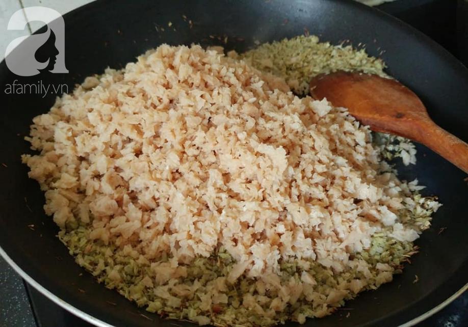 Tháng Vu Lan, học ngay cách làm bún mắm chay chuẩn ngon từ Food Blogger Liên Ròm - Ảnh 6