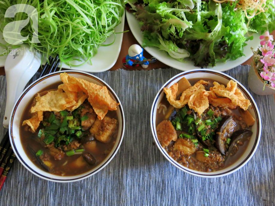 Tháng Vu Lan, học ngay cách làm bún mắm chay chuẩn ngon từ Food Blogger Liên Ròm - Ảnh 9