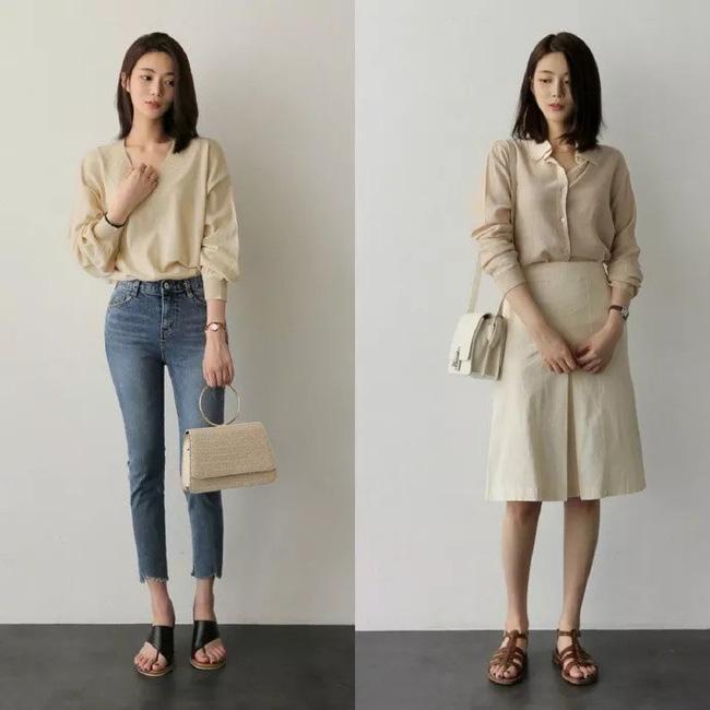 """Áo phông, chân váy hay quần âu - Loạt đồ có sẵn chỉ cần 20 cách """"mix"""" này là mặc đẹp suốt cả tháng 9 - Ảnh 2"""
