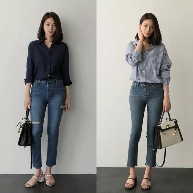 """Áo phông, chân váy hay quần âu - Loạt đồ có sẵn chỉ cần 20 cách """"mix"""" này là mặc đẹp suốt cả tháng 9 - Ảnh 7"""