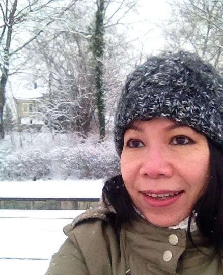 Chân dung chị gái lấy chồng Tây, hiếm khi xuất hiện của Á hậu Trịnh Kim Chi - Ảnh 5