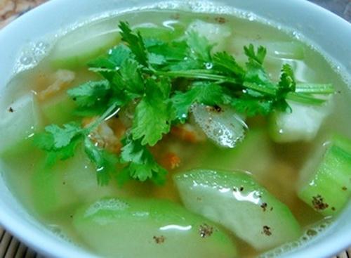 Món ăn giảm cân hiệu quả từ bí đao - Ảnh 1