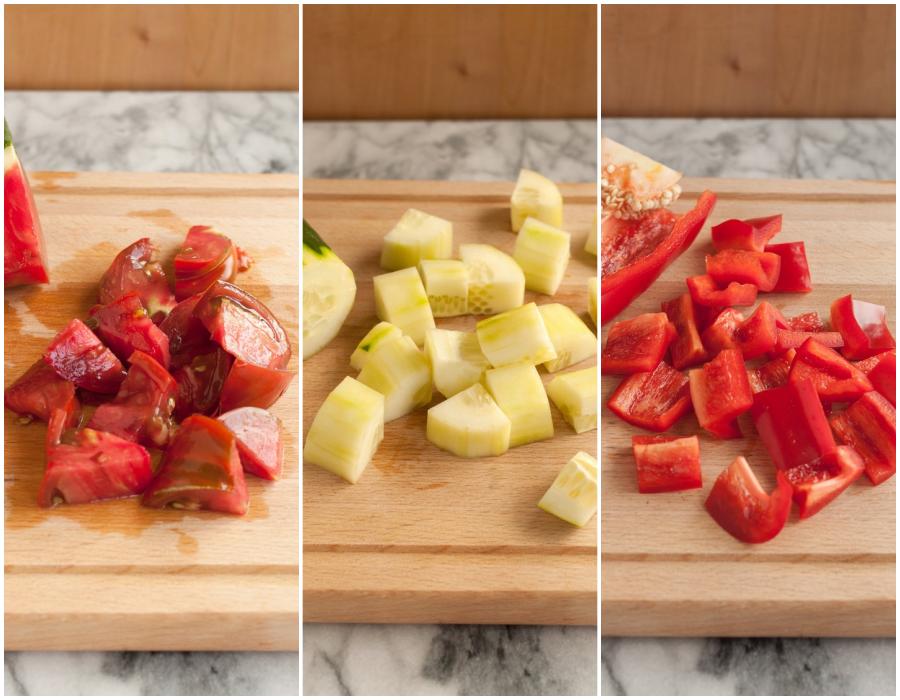 Bạn có biết salad bánh mì làm nhanh lại ngon ăn kiêng cực hợp! - Ảnh 2