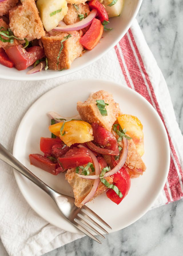 Bạn có biết salad bánh mì làm nhanh lại ngon ăn kiêng cực hợp! - Ảnh 7