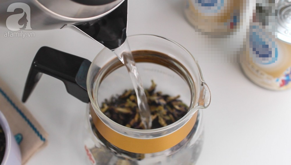 'Nóng bỏng tay' công thức pha trà sữa hoa đậu biếc ngon vi diệu - Ảnh 3