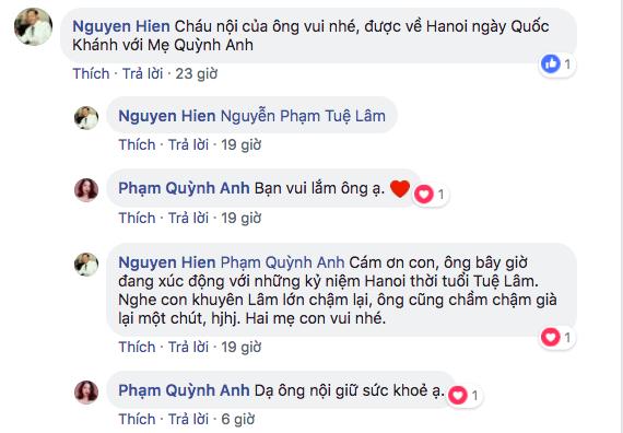 Trước nghi án tan vỡ với ông bầu Quang Huy, Phạm Quỳnh Anh được bố chồng 'cứu nguy' - Ảnh 4