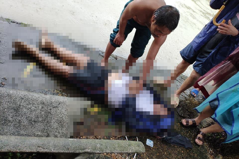 Trưởng thôn ở Hà Tĩnh bị nước lũ cuốn xuống cống tử vong - Ảnh 1