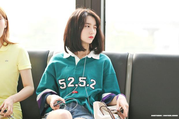 Bí quyết giúp Binnie (Oh My Girl) sở hữu vòng eo chưa đến 50cm, nhỏ tới nỗi phải túm áo, buộc váy thường xuyên - Ảnh 5