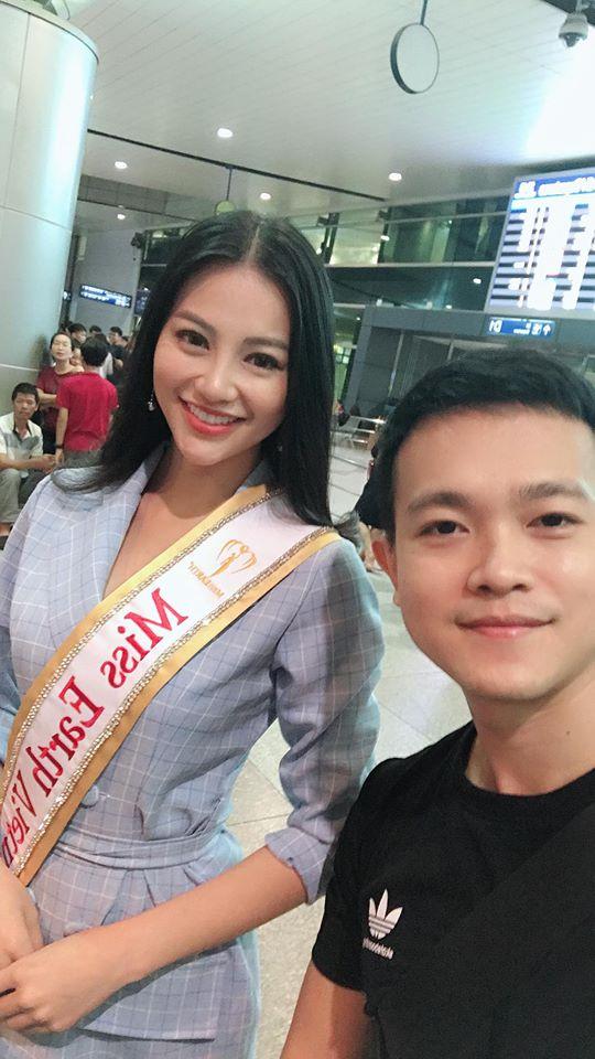Hình ảnh xinh đẹp và chia sẻ đầu tiên của Nguyễn Phương Khánh khi đăng quang Hoa hậu Trái đất 2018 - Ảnh 6